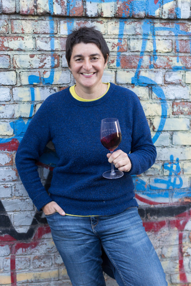 Isabelle Legeron, Founder of RAW WINE. Photo by Tom Moggach