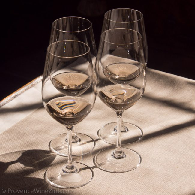 Photo of glasses of rosé
