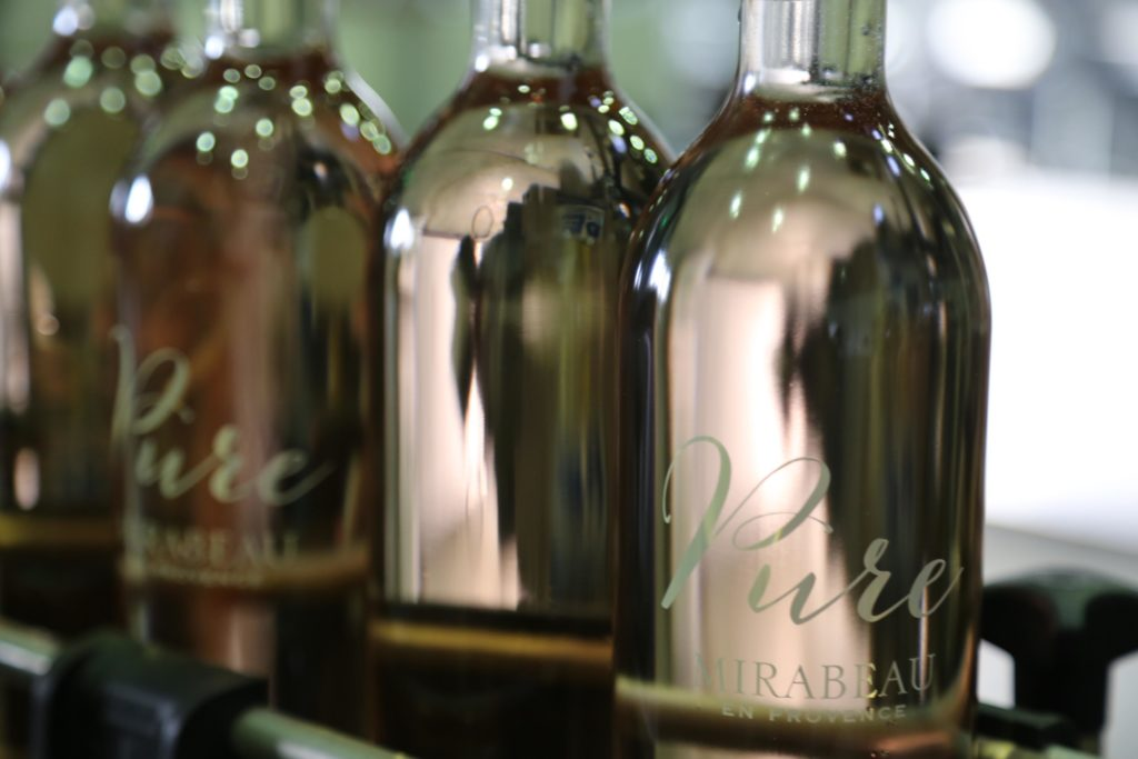 Mirabeau Pure rose wine 2014 bottling