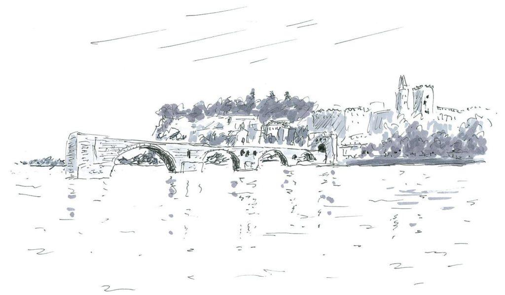 Avignon_St-Benedicte_Bridge