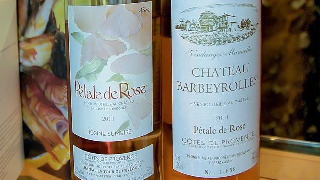 The story of r gine sumeire s p tale de rose ros provence winezine - Petale de rose comestible ...