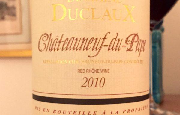 Domaine Duclaux Chateauneuf-du-Pape (2010)
