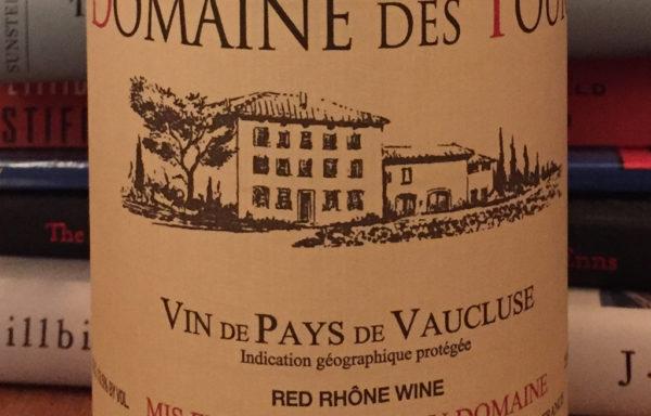 Domaine Des Tours Reserve IGP Vin de Pays de Vaucluse (2012)