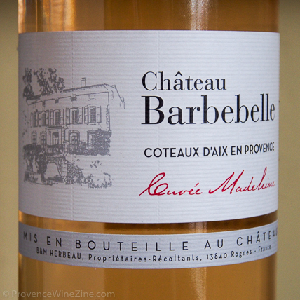 Château Barbebelle Cuvée Madeleine 2016