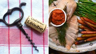 Photo of food pairing with Rose de Leoube