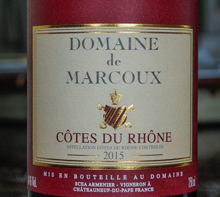 Domaine de Marcoux Côtes de Rhône (2015)