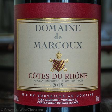 Domaine de Marcoux Côtes de Rhône