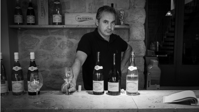 Olivier Santini, third generation winemaker at Domaine du Paternel