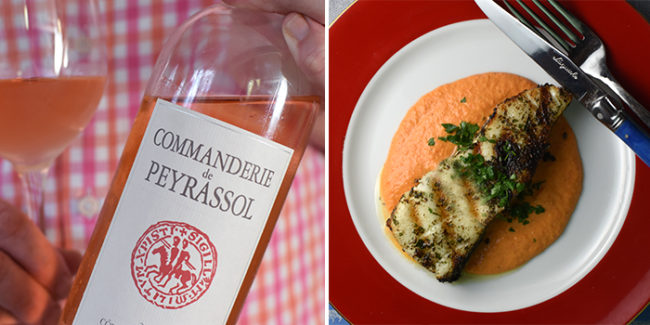 Photo of wine and food pairing